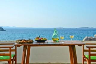 zefyros apartment ydreos sea view balcony